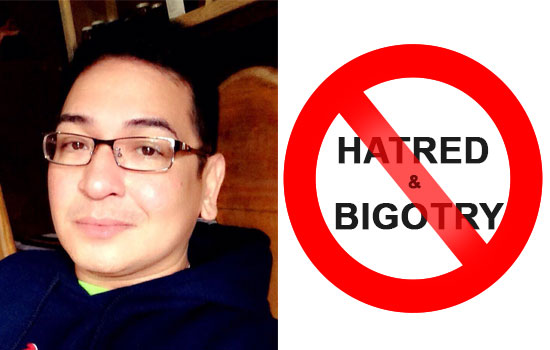 Atty. Bruce Open Letter: 'HATRED and BIGOTRY is a CHOICE'