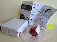 Lieferumfang: Incutex Universal USB KFZ Ladegerät mit 2x USB Slots USB Zigarettenanzünder für iPhone iPad HTC Samsung Galaxy
