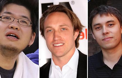 Pendiri Youtube - Chad Hurley, Steve Chen, dan Jawed Karim