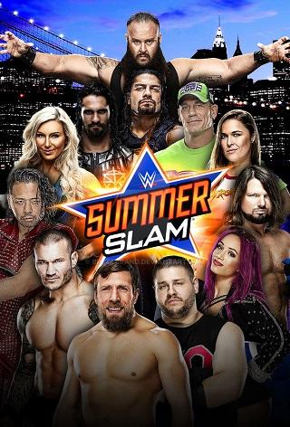 WWE SummerSlam 2018 PPV 950MB 480p WEBRip