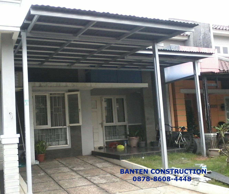 Harga Kanopi Baja Ringan Per Meter Jasa Pemasangan Borongan Atap Banten
