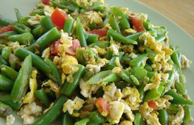 Resep dan cara membuat orak arik telur buncis