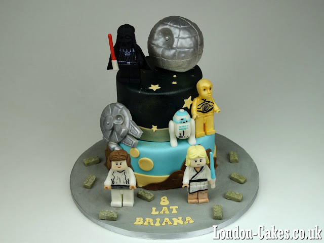 Lego Star Wars Cake, London