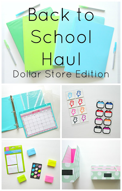Cute and functional school supplies for less money