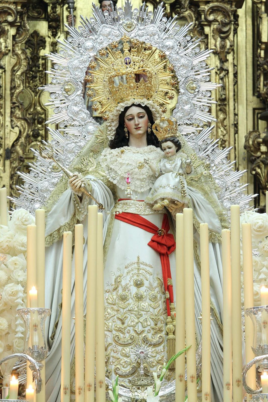 Resultado de imagen de virgen de las nieves Sevilla