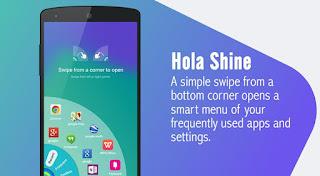 تحميل برنامج تغيير شكل الأندرويد Hola Launcher