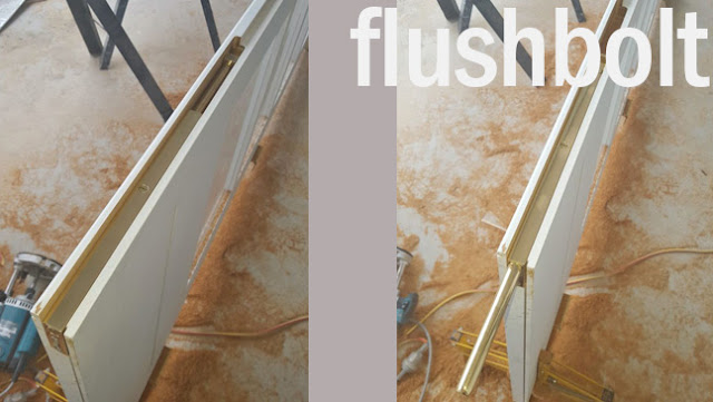 type-type grendel tanam atau flushbolt