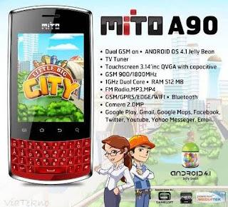 Baterai Mito A90