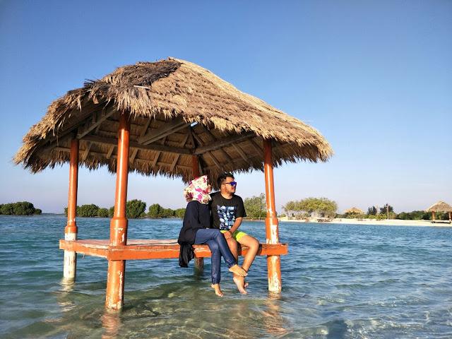 Menikmati Indahnya Pantai Pasir Perawan di Pulau Pari Kepulauan Seribu
