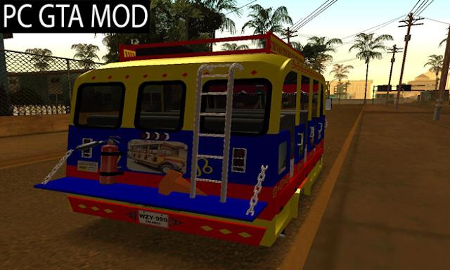 Free Download GMC 3100 Bus Escalera Mod for GTA San Andreas