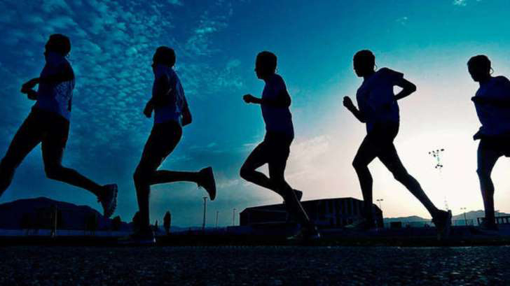 At what time is it best to practice running?