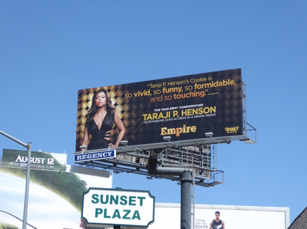Empire season 2 Taraji P Henson Emmy billboard