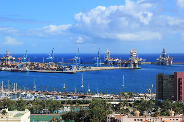 Harbour Gran Canaria Travel Blog Iga Berry