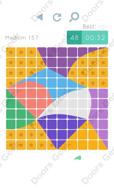 Cheats, Walkthrough for Blocks and Shapes Medium Level 157