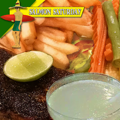 Tequila Reef Pattaya Salmon Special Catch of the Day