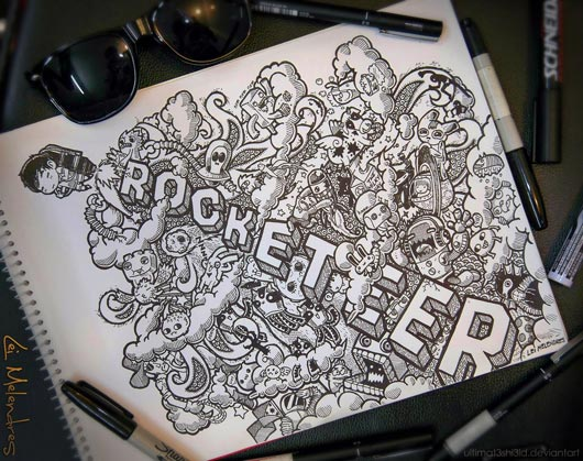 Doodle Art : 40+ Awesome Doodle Art Inspiration Examples ...