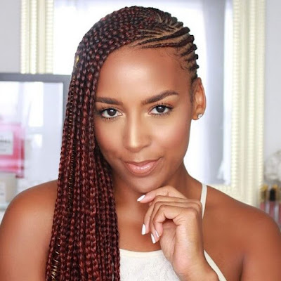 +39 Lemonade Braids Hairstyles 2020 For African Lookbook