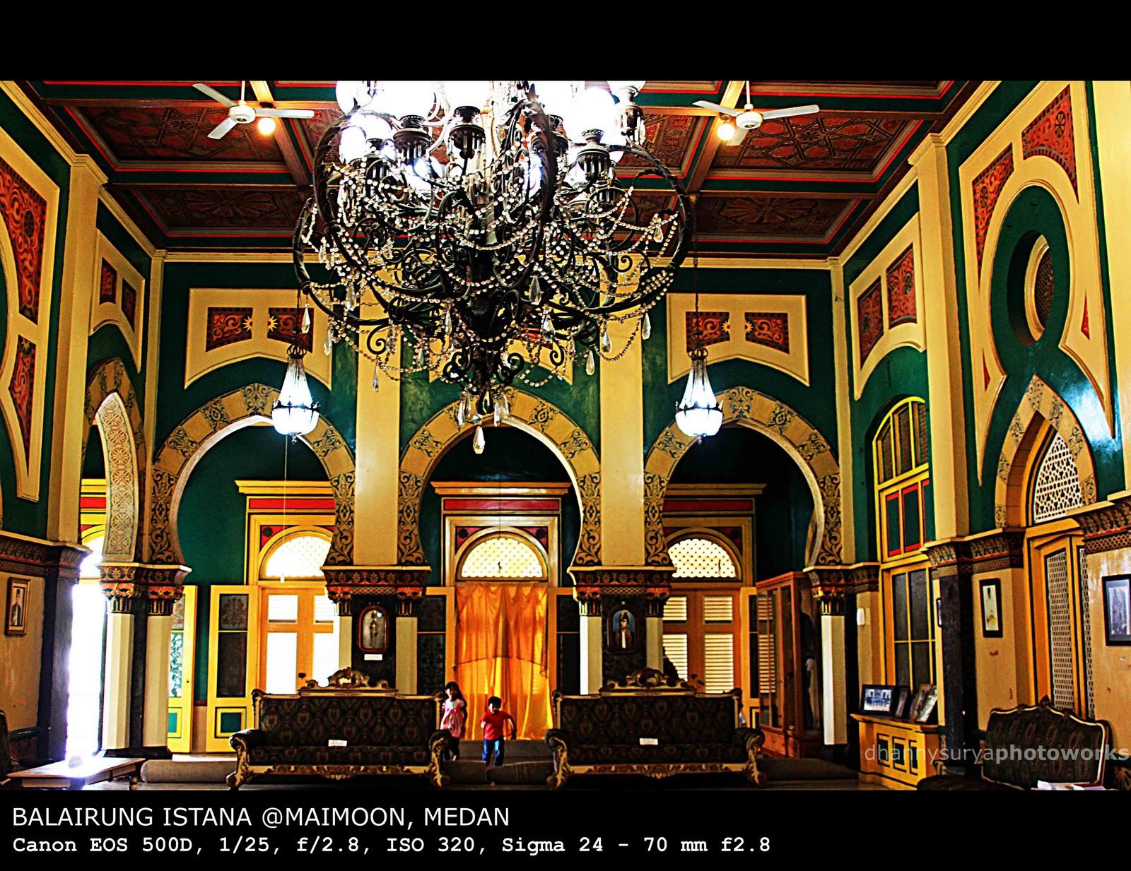 dhannysurya PHOTOBLOG: Istana Maimoon Medan