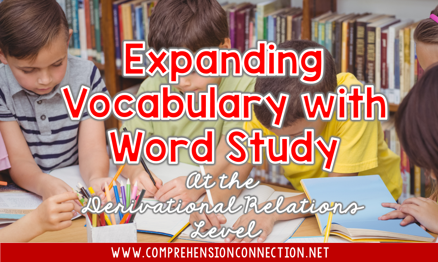 Are you an upper elementary or middle school teacher? This post explains what word study looks like for students at your level. It explains the Derivational Relations stage and how it works. Check it out!