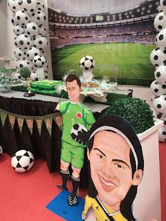 decoración selección Colombia