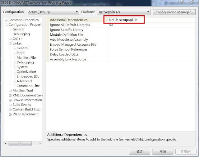 USB HID Host on Windows : Based on SiLab C8051 Example
