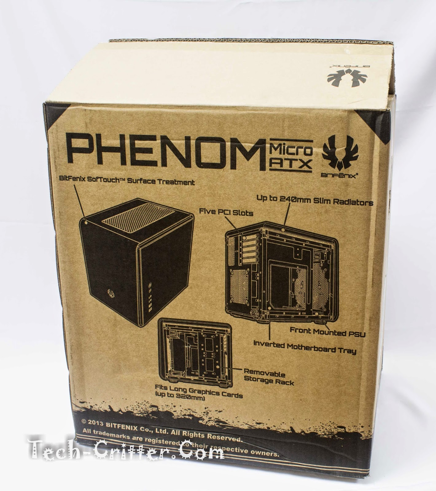 Unboxing & Review: BitFenix Phenom-M 4