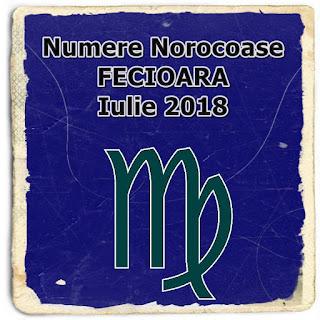 Horoscop Numerologie Numere Norocoase FECIOARA Iulie 2018