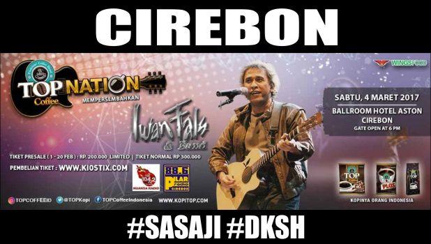 konser Iwan Fals Cirebon Maret 2017