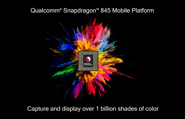Qualcomm Snapdragon 845 Mobile Platform announced