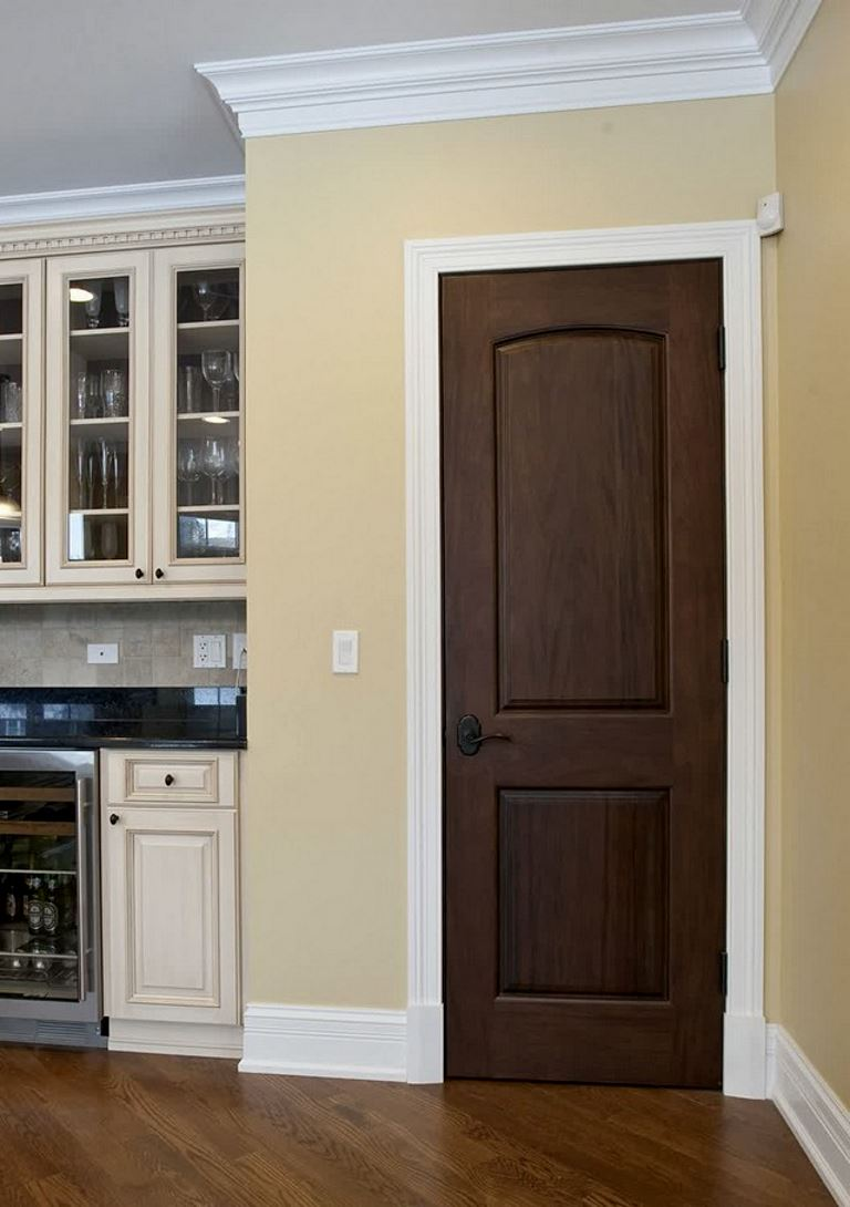 Home Interior Door Color darker