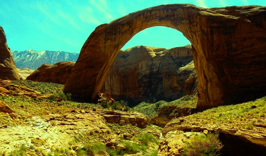 8 places to cool off at U.S. national parks this summer  |Glen Canyon Utah Attractions