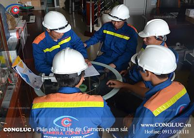 Lắp camera quan sát tại Lạch Tray Hải Phòng