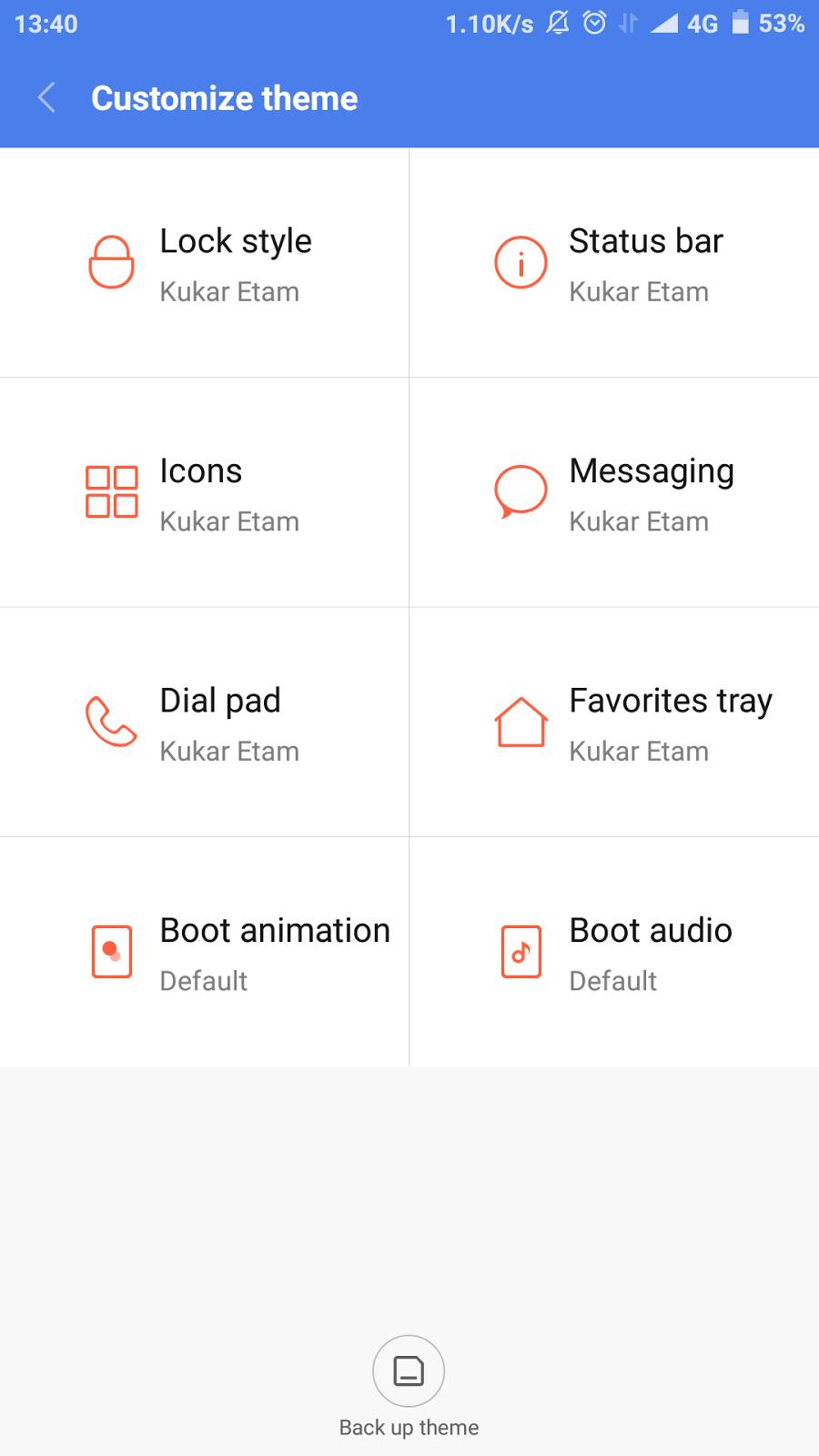 Cara Modifikasi Theme Manager di MIUI 8 (Support Font, Boot