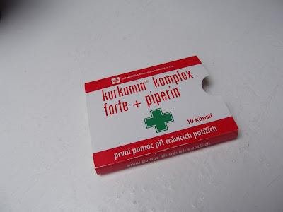 Kurkumin komplex forte + piperín