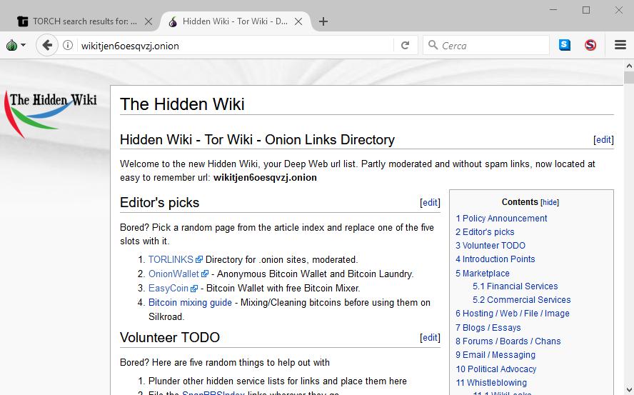 tor onion directory