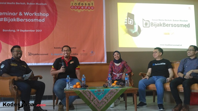 Indosat Ooredoo Gelar Sosialisasi Bijak Bersosmed di SMA YWKA Bandung