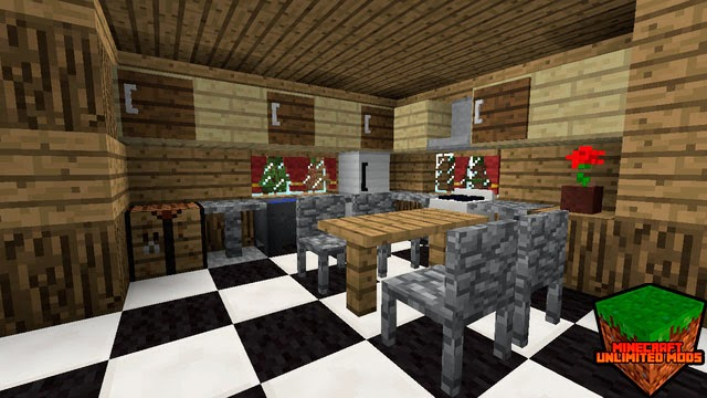 Mrcrayfish´s Furniture Mod cocina