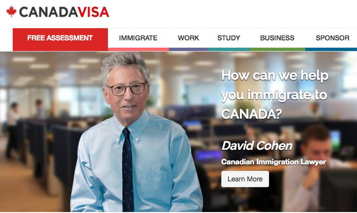Canadian Visa application process