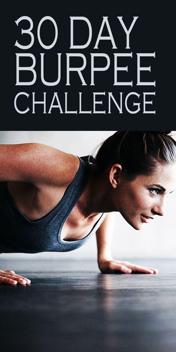 Take the 30 day burpee challenge