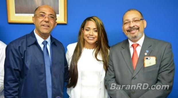 Regis Victorio Reyes, Smaily Yamel Rodríguez y Amado José Rosa