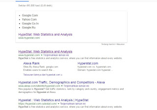 HypeStat: Web Statistics and Analisis