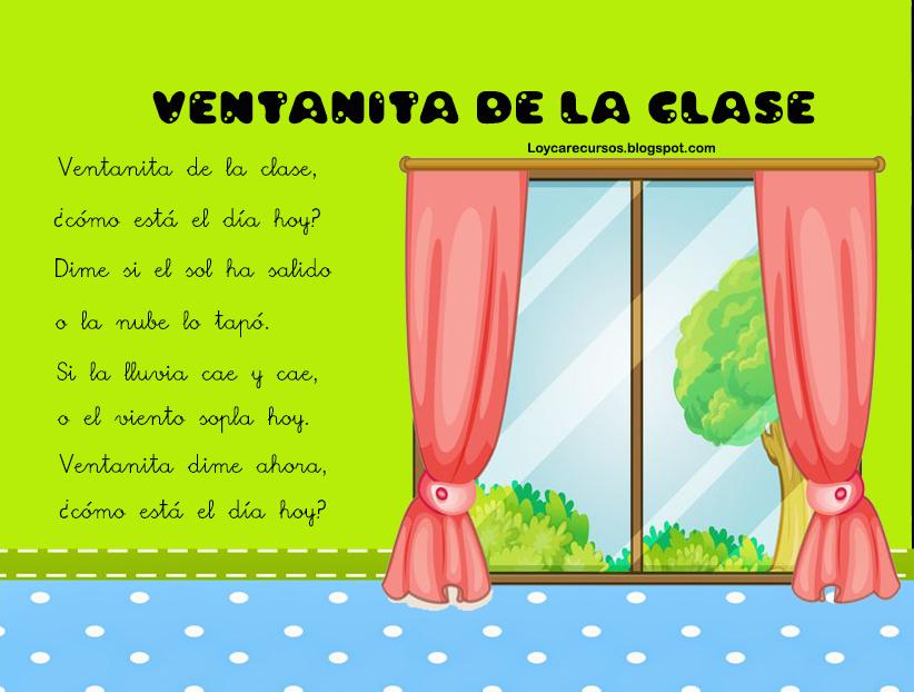 Recursos de educaci n infantil ventanita de la clase for Esta abierto hoy la maquinista