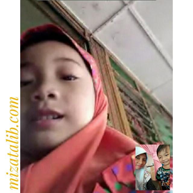 kakak sayang adik, bonding time, sibling, Afiq Furqan, Aqilah Firzanah, Tips didik anak, Kasih Sayang, Tips ajar anak hargai orang di sekeliling, hormat orang