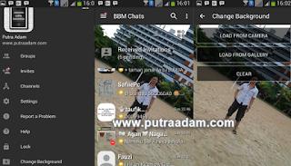 BBM Mod Dark Gray v3.0.0.18 Apk