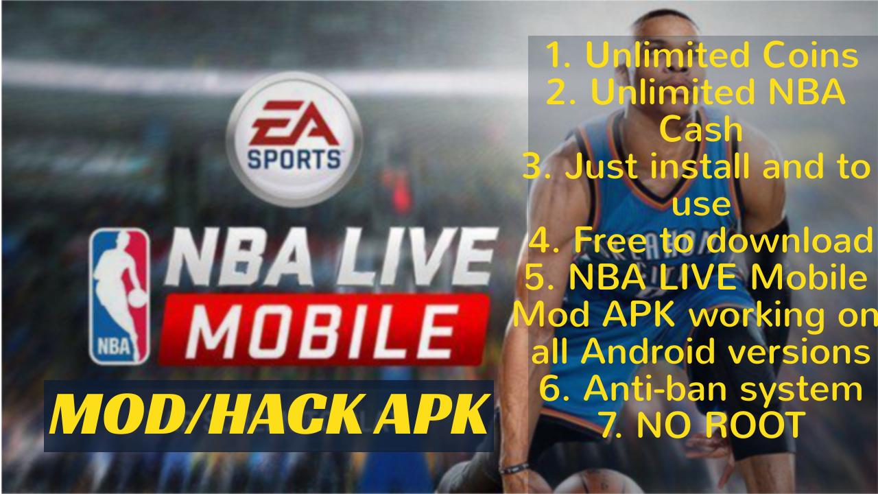 nba live mobile basketball mod apk offline