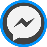 messenger icon outline