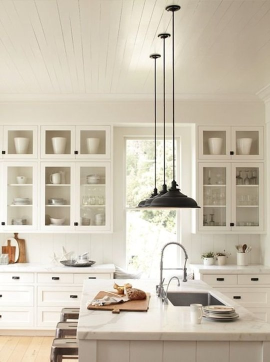 Simple White Kitchen the black goose design: the classic white kitchen