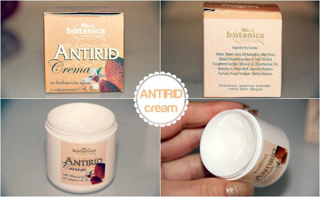 Botanica natural cosmetic antirid krema za oci sa bademovim uljem