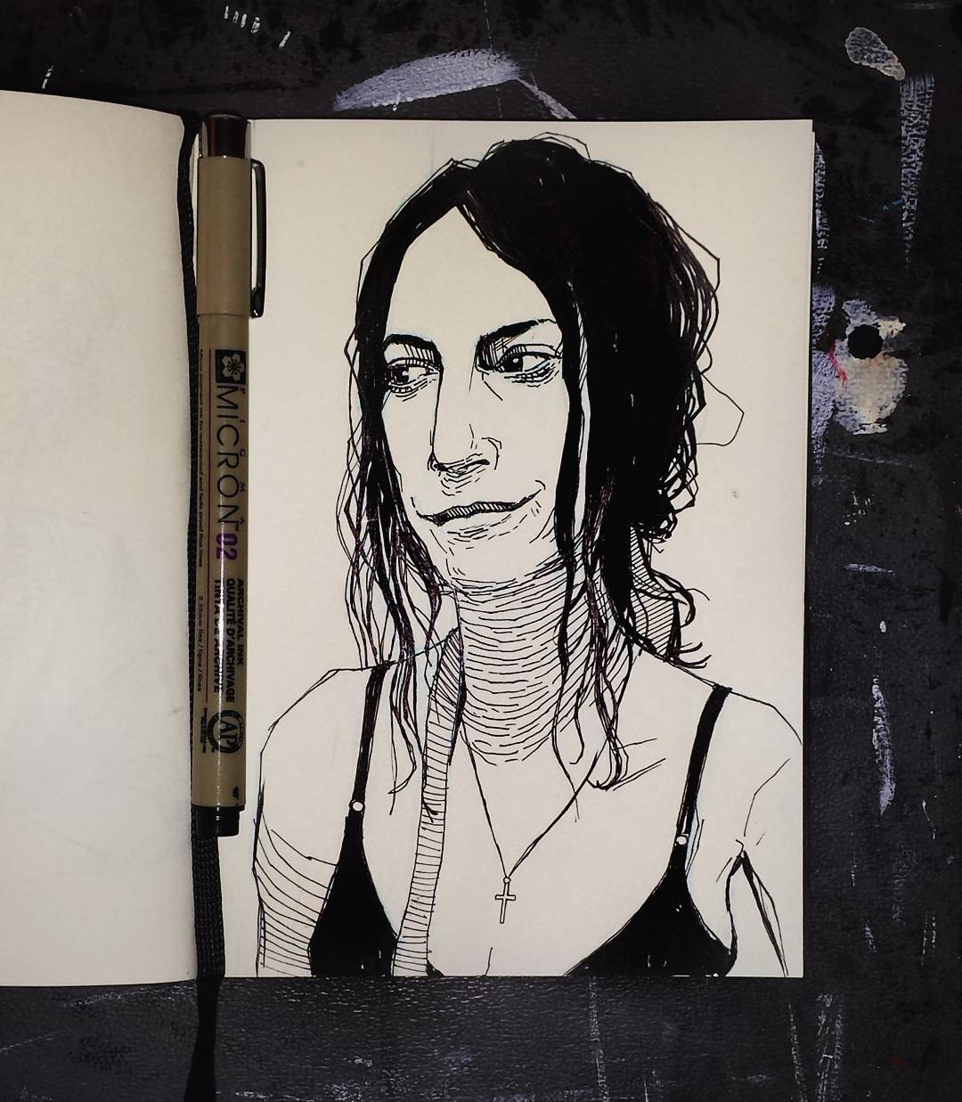 Patti Smith portrait illustration