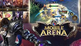 Mobile Arena Action MOBA APK MOD OBB Data